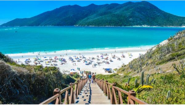 Feriado da Independência movimentou praias brasileiras
