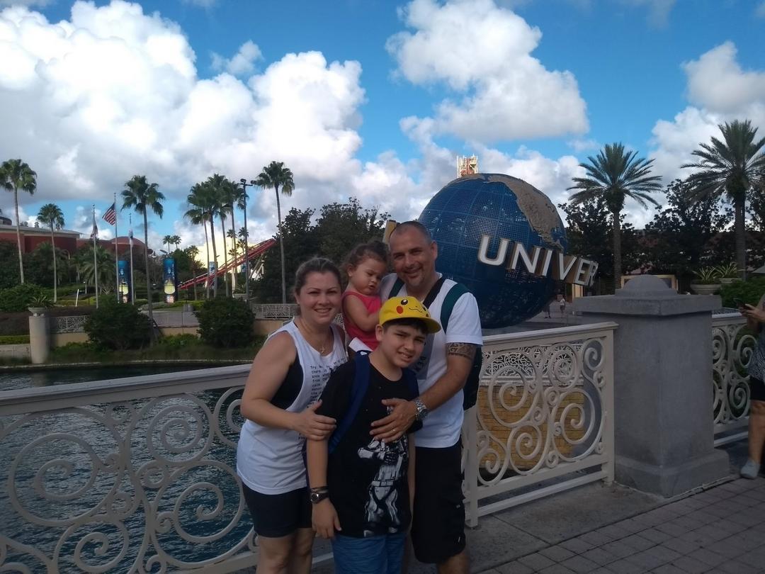 Lalo Barros, apaixonado por viagens e pelos parques da Flórida