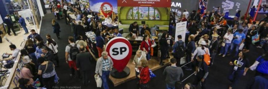 Quase metade dos visitantes da Abav Expo é de fora da capital paulista