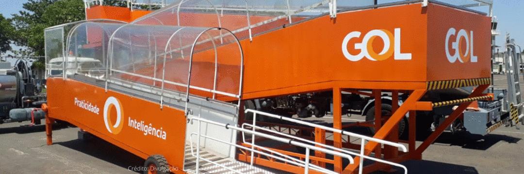 Gol inaugura rampa de acesso em Presidente Prudente (SP)