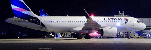 Latam inaugura voo direto Brasília-Lima