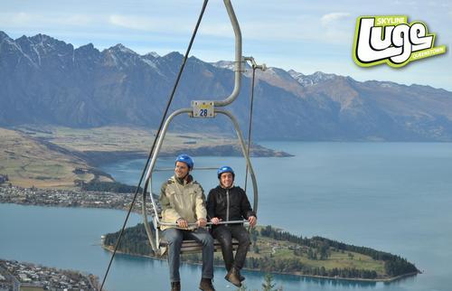 Nova Zelândia de Sul a Norte por 2 vezes
