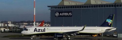 Azul recebe primeiro A321neo do Brasil