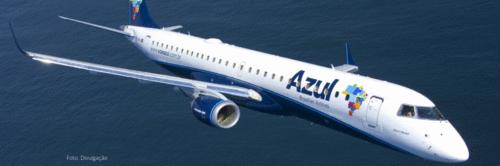 Azul abre alta temporada de verão com novos voos